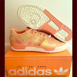 Adidas X Social Status Rivalry Lo King Peach Sz 8